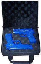 Gun Case 2 Gun Storage Zipper Sides Padded Exterior Interior PT-511 Nice Case