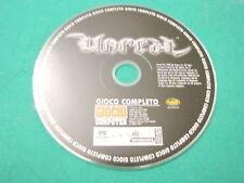 cd rom x per pc gioco UNREAL epic games 1998 infogrames