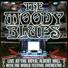 THE MOODY BLUES Live at the Royal Albert Hall with the World Festival CD