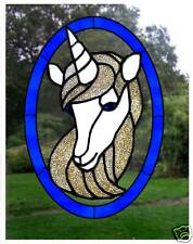 Unicorn Stained Glass Effect Window Cling / Decal