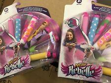 NERF Rebelle Charmed 8 Dart Refill Pack 3 Special Bracelet Charms Blaster Toy