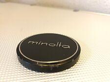 Genuine Minolta Metal 54mm Push On Front Lens Cap for 52mm Front (2724)