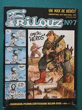 FRILOUZ / octobre 1983 : couverture de Bourgeon ...