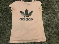 Vintage Adidas T shirt Mens Casual Short Sleeve Top Size S