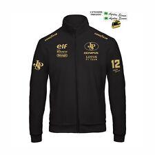 Felpa ZIP LOTUS Ayrton Racing Team replica corse GP scuderia+ stickers
