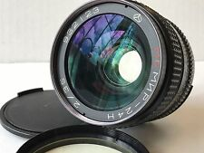 full frame lens mc mir 24 n 2/35 35mm nikon mount near Mint