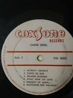 The Soul Bros.-Carib Soul Vinyl LP 1967 COXSONE FIRST PRESS