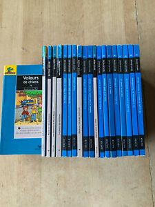 lot 20 livres Ratus Poche - Série Bleue / 9-12 ans - Hatier / lecteur confirmé