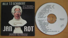 JAN ROT Alle 13 Schubert 20-track album CD Card sleeve