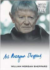STAR TREK 2014 MOVIES WILLIAM MORGAN SHEPPARD VULCAN SCIENCE MINISTER AUTOGRAPH