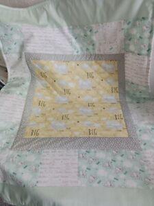 Handmade cot quilt