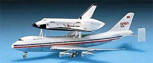 Academy 1/288 Scale Space Shuttle/747 Transport Plastic Model Kit 12708 ACY12708
