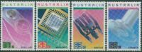 Australia 1987 SG1082-1085 Achievements in Technology set MNH