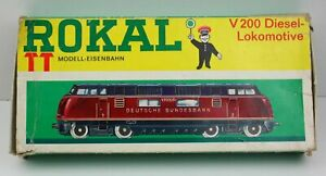 Rokal TT Leerkarton Schachtel 01 032 für Diesellok V 200