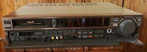 Sony EV-S550 Video8 PCM HiFi Stereo 8mm VCR WITH REMOTE
