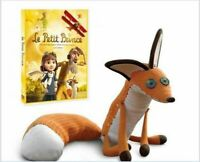 Lovely film The little Prince Le Petit Prince 45cm Fox Plush Doll Birthday Toy