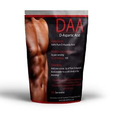 DAA Testosterone Booster D-Aspartic Acid 300g - 100 Servings