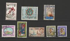 Kuwait Koweït 8 timbres oblitérés 1960/70 /T2964