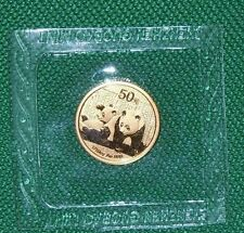 2010 ~ .999  PURE 999 GOLD ~ CHINA PANDA COIN ~ 1/10 OUNCE ~MINT SEALED~ 50 YUAN