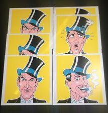 🔴Scarce Vintage Magicians Cartoon Bullet-Catch By Marcelo Contento Magic Trick
