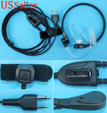 Throat Mic Headset/Earpiece For Midland Radio PTT XT23S Gxt860 GXT560 GXT500
