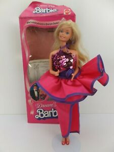 Vintage 1982 DREAM DATE BARBIE 5868 In Original Box Superstar Doll