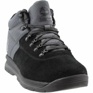 Men's Timberland GT RALLY MIXED-MEDIA BOOTS, TB0A1QFD 015 Multi Sizes Black Sue