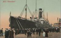 Postcard Ship SS Haverford