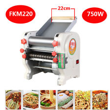 220V Home Commercial FKM220 Pasta Press Maker Noodle Machine Dumpling Skin 750W