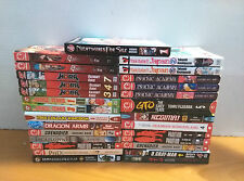 Mixed lot of 28 various manga volumes - shounen horror
