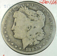 1883 MORGAN SILVER DOLLAR CIRCULATED COIN #2