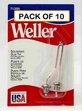 Pack Of 10 Weller Original Soldering Tip 7135n With Nut For 8200 Soldering Gun