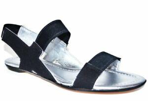Elie Tahari Women's Estrella Sandal Canvas Sandal Shoe US 6M EU 36