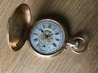 Reloj Bolsillo PAUL JEANNOT Pocket Watch - Geneve Vintage 18KGold - Collectors