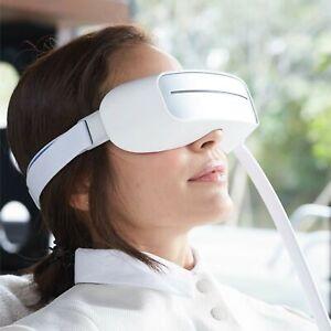 Aurai Water Eye Massager Kickstarter Eye Care With Cooling And Heat - White