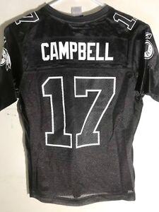 Reebok Women's NFL Jersey Washington Jason Campbell Black sz S