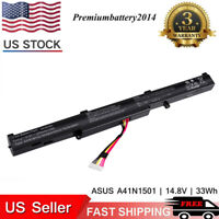 A41N1501 Laptop Battery for ASUS ROG GL752VW G752VW N552V N552VX N752VX US