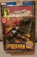 "Spider-Man Classics Black Costume Spider-Man 6"" Action Figure (2000 ToyBiz)"
