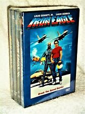 Iron Eagle 1 2 3 4 Complete Collection (DVD, 2020) Lou Gosset Jr Jason Gedrick