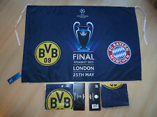 FC Bayern München BVB Finale Champions League Wembley London 2013 NEU OVP Fahne