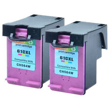 2PK #61 XL Color Ink cartridge For HP ENVY 4500 4501 4502 5530 5531 5535 CH564WN