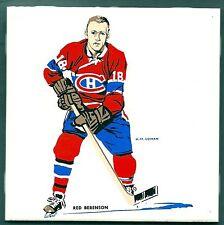 1962-63 H.M.Cowan Ceramic Tile's Canadiens' Red Berenson, Mint