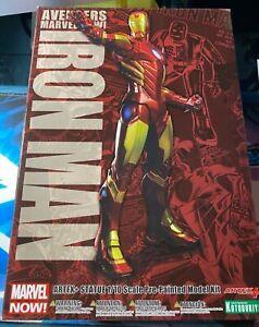 Kotobukiya ARTFX Marvel NOW Iron Man Snap Statue Red and Gold 1/10 Scale