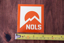 NOLS Wilderness Education STICKER Decal VINTAGE LOGO New