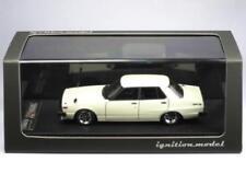 IGNITION MODEL 1/43 Skyline 2000 GT-EL (C210) White Hayashi-Wheel #IG0317
