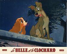 *La belle et le clochard  Walt Disney Photo originale d'exploitation vintage