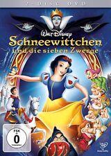 2 DVD Disc Set: Walt Disneys Schneewittchen & die 7 Zwerge - NEU OVP