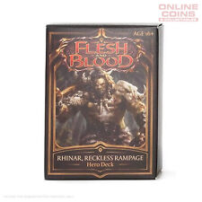 Flesh and Blood TCG - Welcome to Rathe Hero Deck - Rhinar