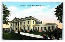 Postcard Governor's Mansion, Baton Rouge LA  C58