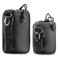 walimex Lens-Bag /  Lens Pouch  NEO11 300 Set  Size S + M, neoprene